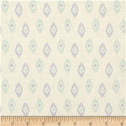 Kaleidoscope Ikat Light Cream