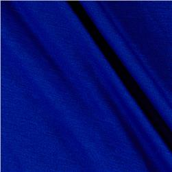 Jersey Knit Solid Cobalt