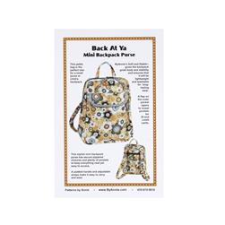 By Annie Back At Ya Mini Backpack & Purse Pattern