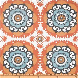 Annette Tatum Boho Medallion Orange