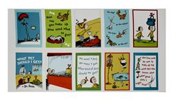 "Dr Seuss What Pet Should I Get 24"" lock Panel Adventure"