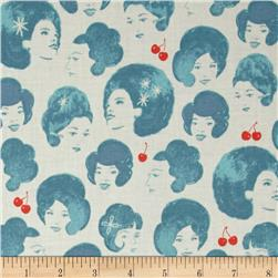 Cotton + Steel Fruit Dots Dotties Blue