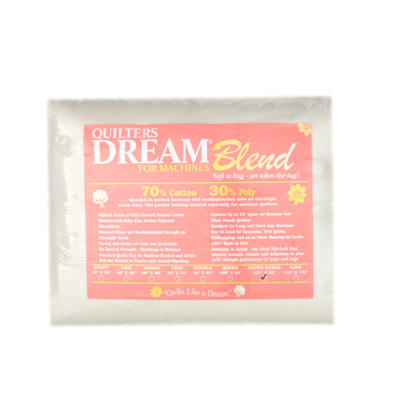 Quilter's Dream Blend (122'' x 93'') Super Queen by Quilter's Dream in USA