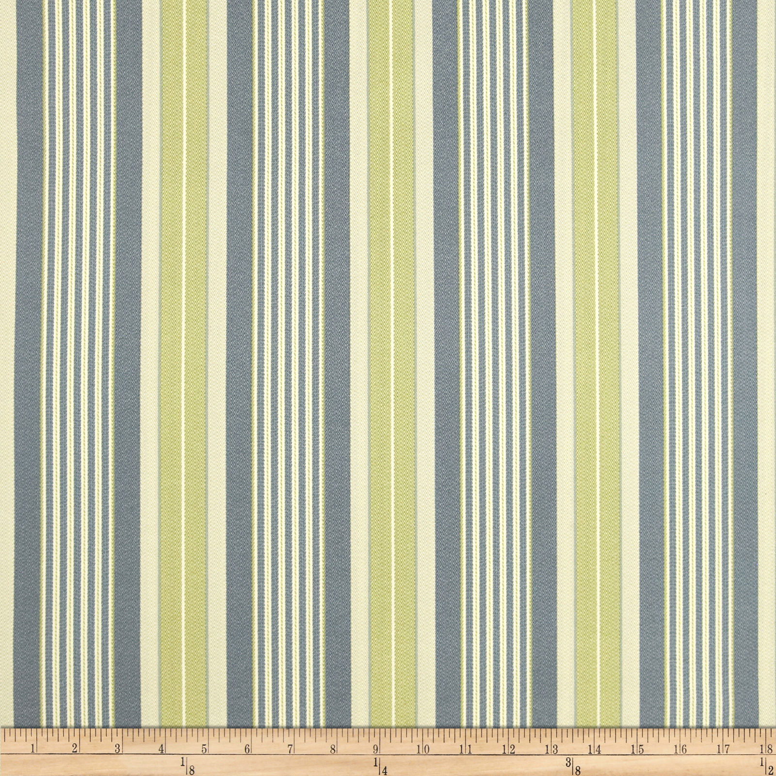 Waverly Sun N Shade Long Hill Stripe Chambray