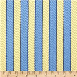 Nautica Indoor/Outdoor Deck Chairs Stripe Day Lily Fabric