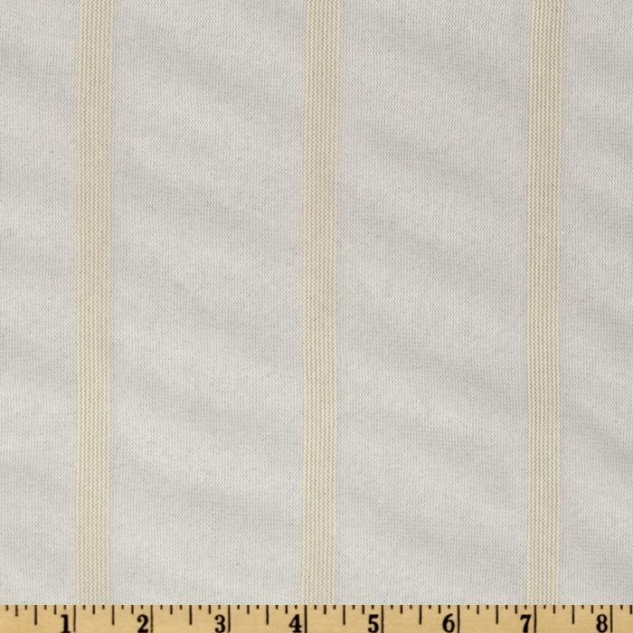 Nylon Mesh Stripes White/Cream