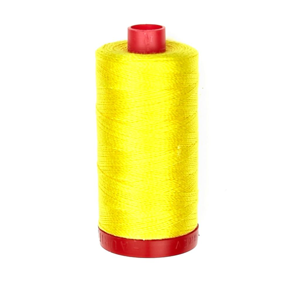 Aurifil 12wt Embellishment and Sashiko Dreams Thread Canary