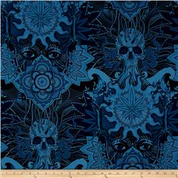 Alexander Henry Nicole's Prints Elevated Blue Chill