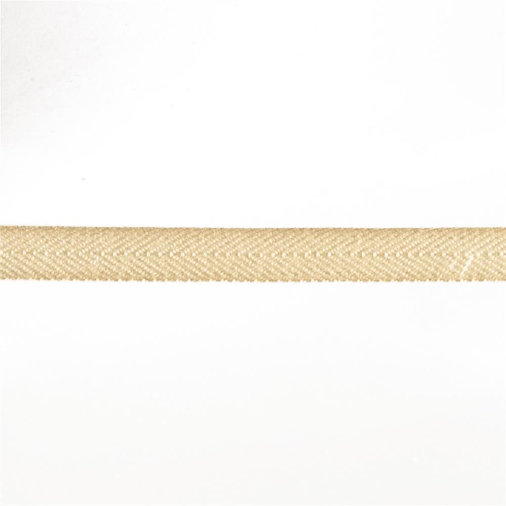 "May Arts 3/4"" Twill Ribbon Spool Ivory"