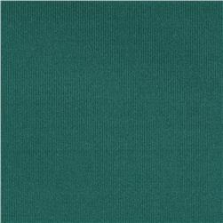 Heavyweight Scuba Double Knit Teal Green Fabric