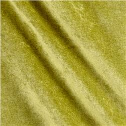 Antique Velvet Olive Green Fabric