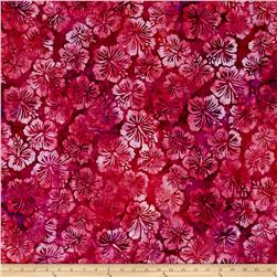 Kaufman Totally Tropical Batik Flowers Tropical