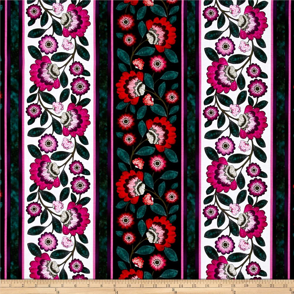 Kanvas Floral Philosophy Vine Black/Brite