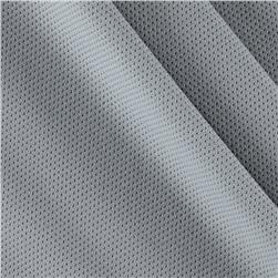 Mesh Spandex Knit Light Gray