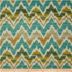 Swavelle/Mill Creek Timissa Chevron Eucalyptus Fabric