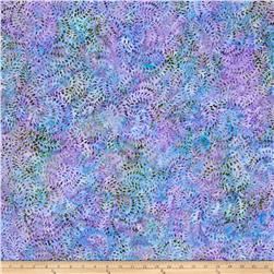 Benartex Balis Batik Aloha Fern Swirl Light Purple