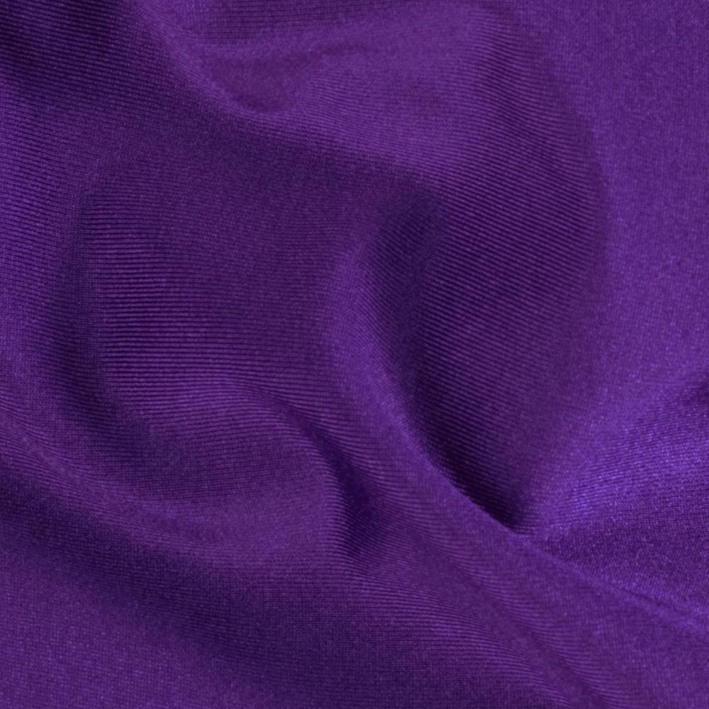 Nylon Lycra Raschel Knit Purple