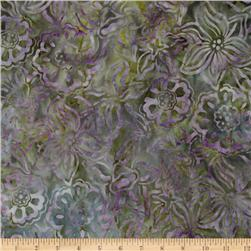 Artisan Batik: Enchanted Large Floral Garden