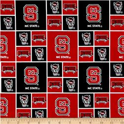 Collegiate Cotton Broadcloth North Carolina State Fabric