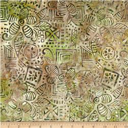 Michael Miller Batik Wood Block Earth