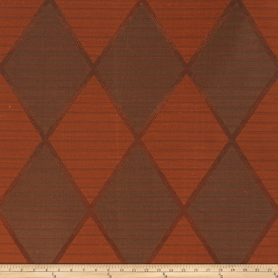 Fabricut Contempo Silk Redwood