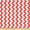 Riley Blake Small Chevron Rouge