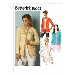 Butterick Misses' Jacket Pattern B6062 Size A50