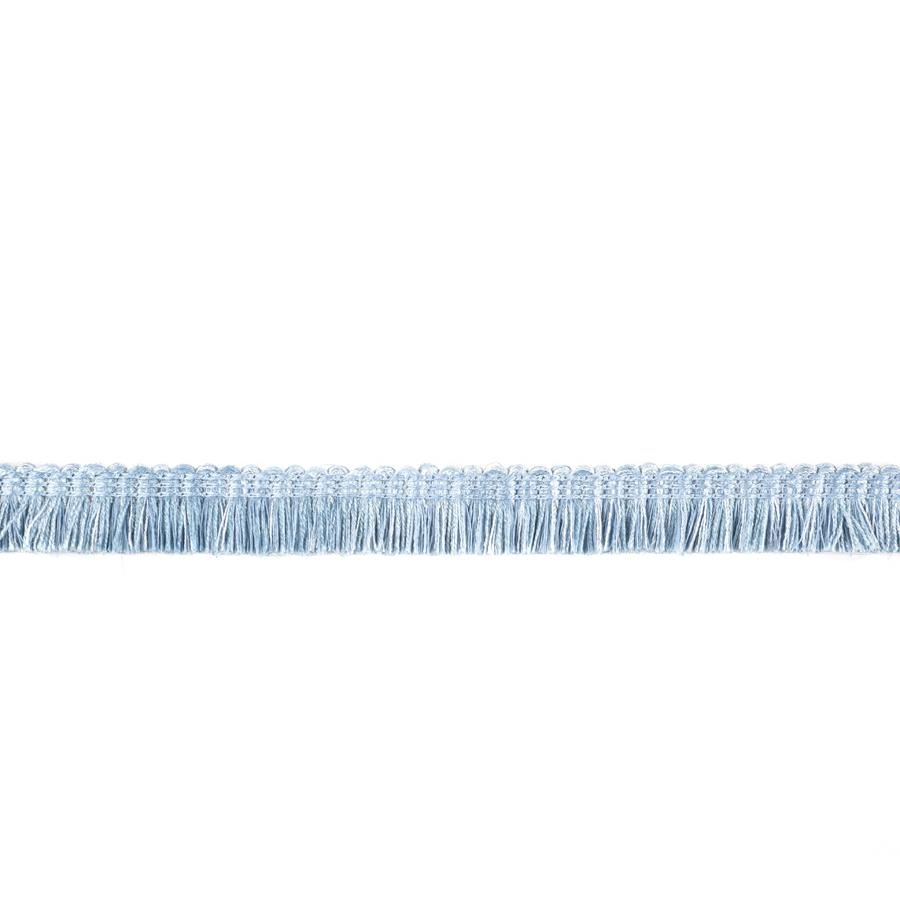 "Fabricut  7/8"" Dowlas Brush Fringe Chambray"