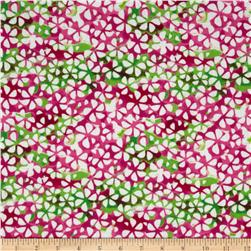 Large Floral Pink/Multi Fabric