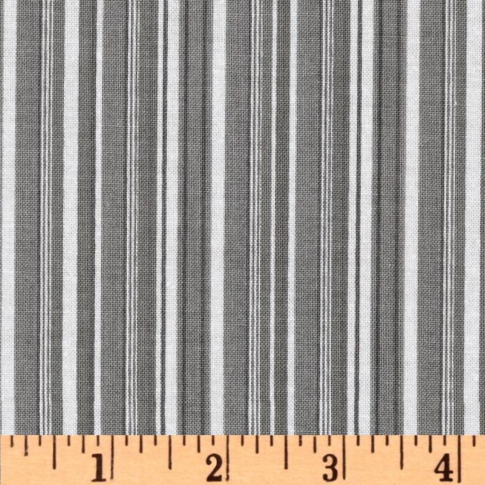 Riley Blake Tuxedo Collection Stripe Gray