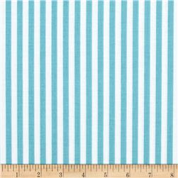 "Riley Blake 1/4"" Stripes Aqua"