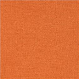 Designer Jersey Knit Solid Orange Sherbert