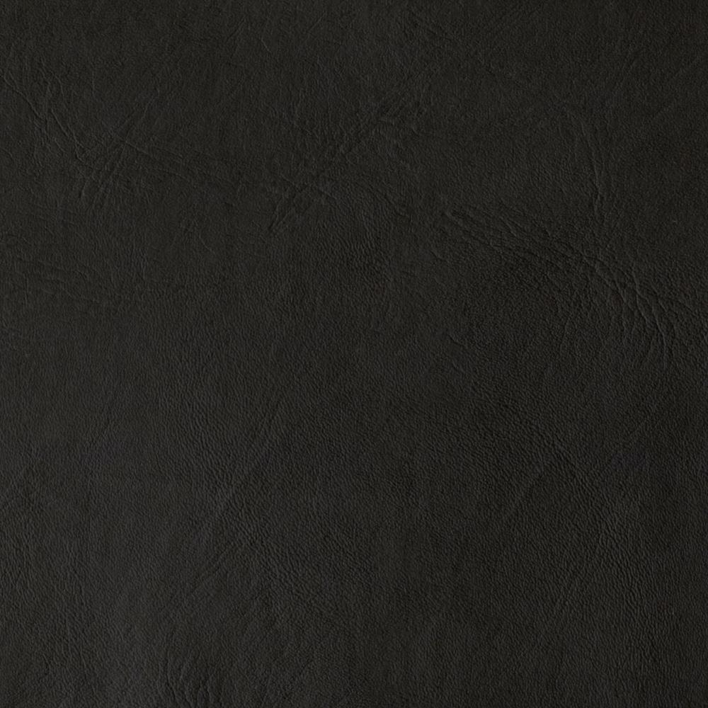 Flannel Backed Faux Leather Majik Black