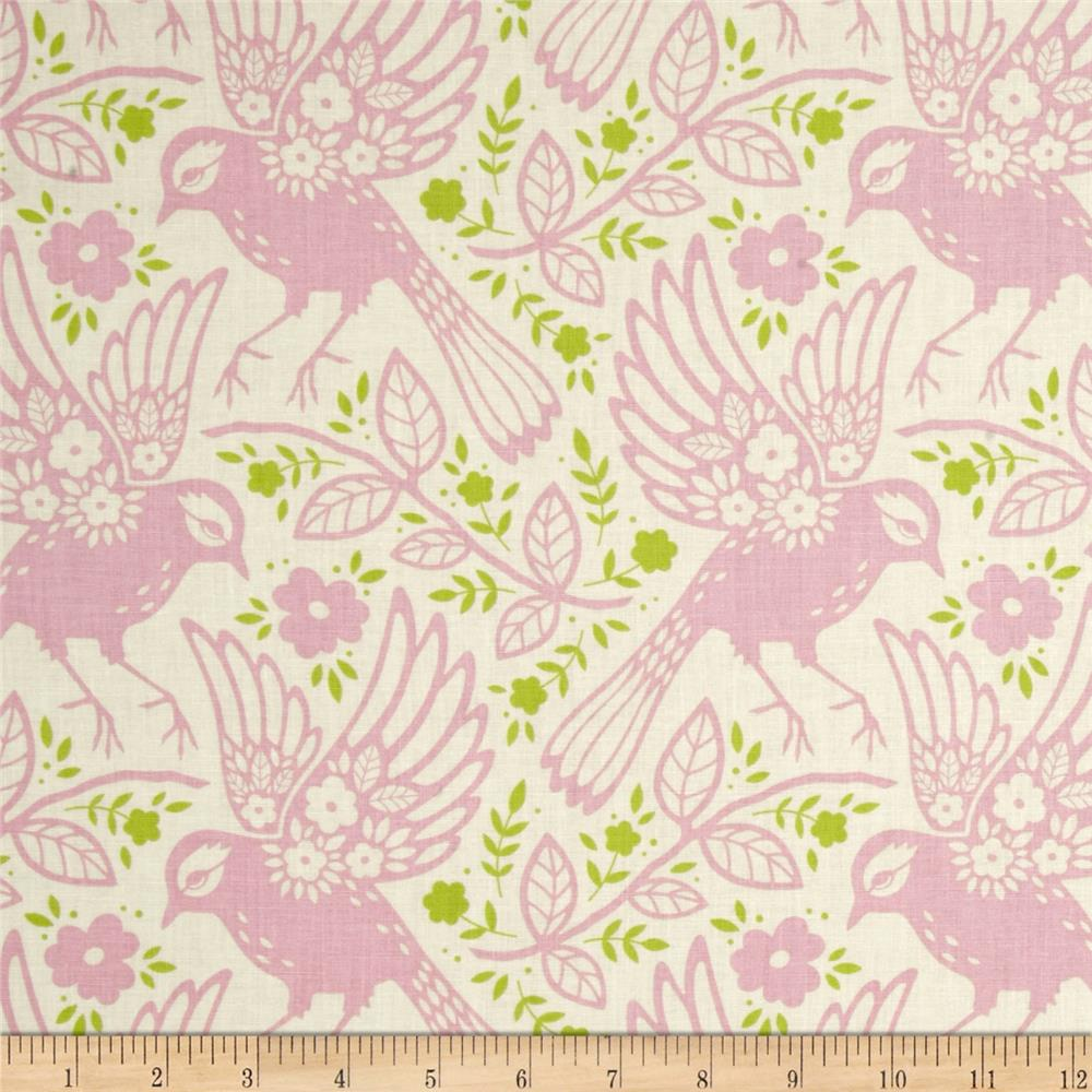 Heather Bailey Up Parasol Meadowlark Pink