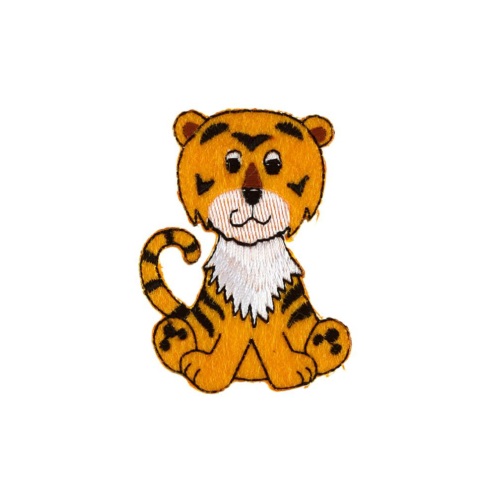 Tiger Applique Yellow