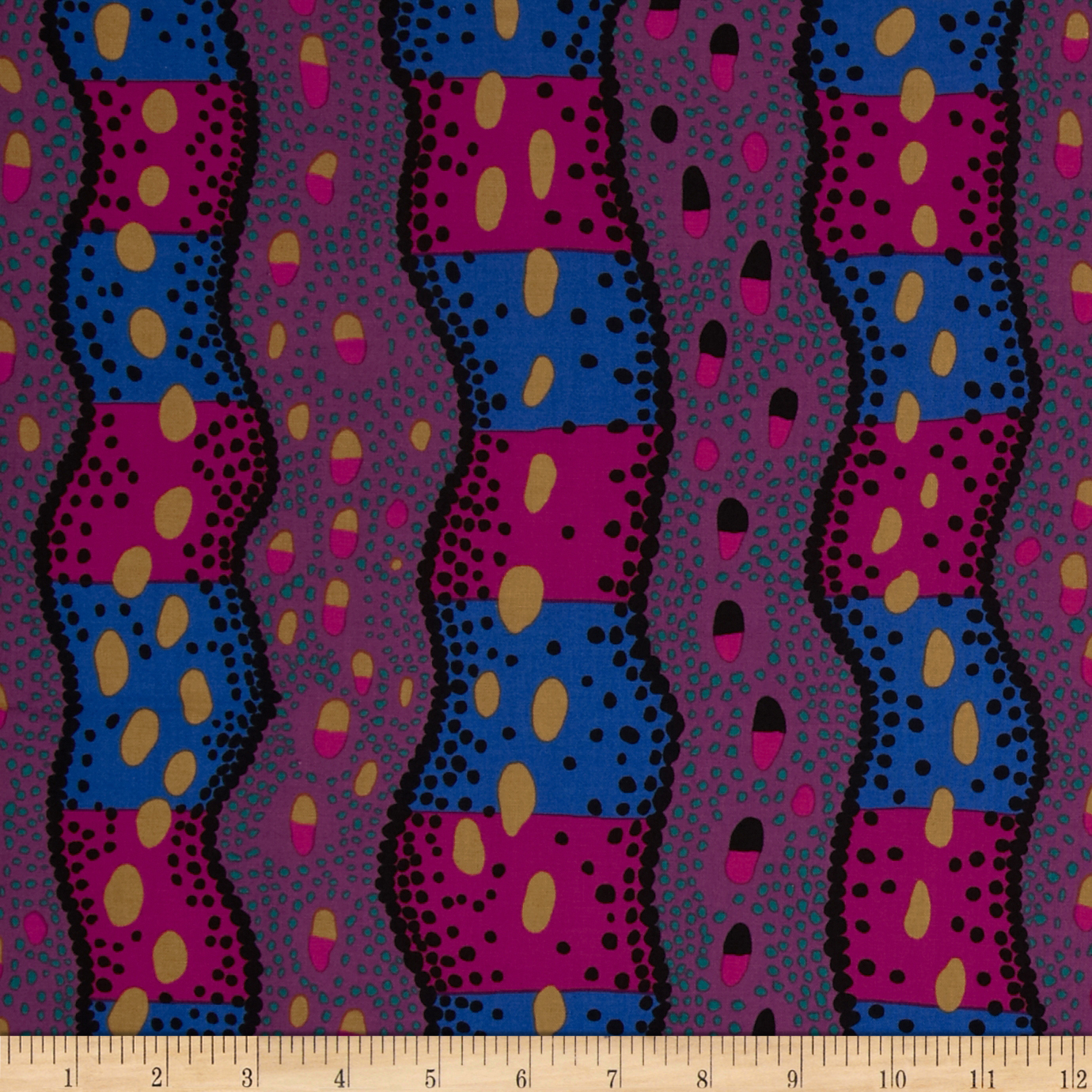 Kaffe Fassett Collective Mineral Victoria Dark Fabric