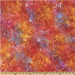 Artisan Batik Grove Foliage Tropical Gold