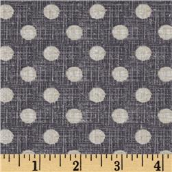 Ladies & Gentlemen Textured Dots Grey