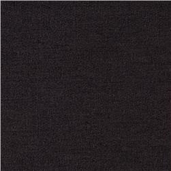 French Terry Knit Solid Charcoal