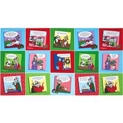 Maxine Christmas Panel Holiday Multi