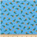 El Camino Arched Florals Blue/Orange/Green