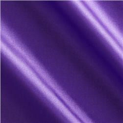 China Silk Polyester Lining Deep Purple Fabric