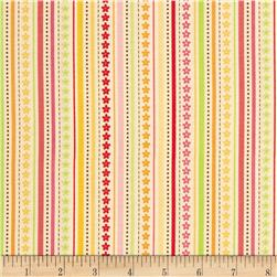Riley Blake Ladybug Garden Stripe Yellow