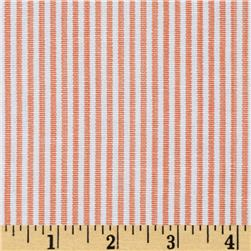 Team Spirit Home Decor Stripe Peach/Ivory