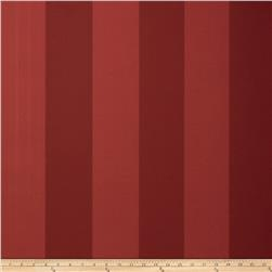 Fabricut 8827e Sutton Stripe Wallpaper S0341 Ruby (Triple Roll)
