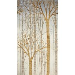 Robert Kaufman Sound of the Woods Metallic Large Tree Shadow