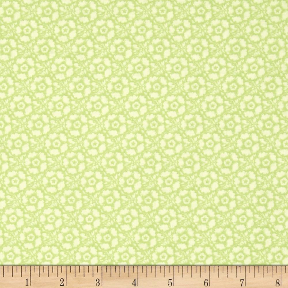 Butterfly Botanical Tonal Floral Green