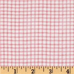 Paper Doll Cuties Checkered Plaid Pink
