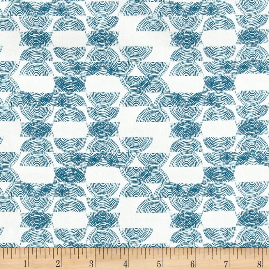 Art Gallery Bountiful Jersey Knit Haymow Stack Fabric by Art Gallery in USA