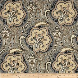 Tempo Indoor/Outdoor Versailles Black/Brown Fabric